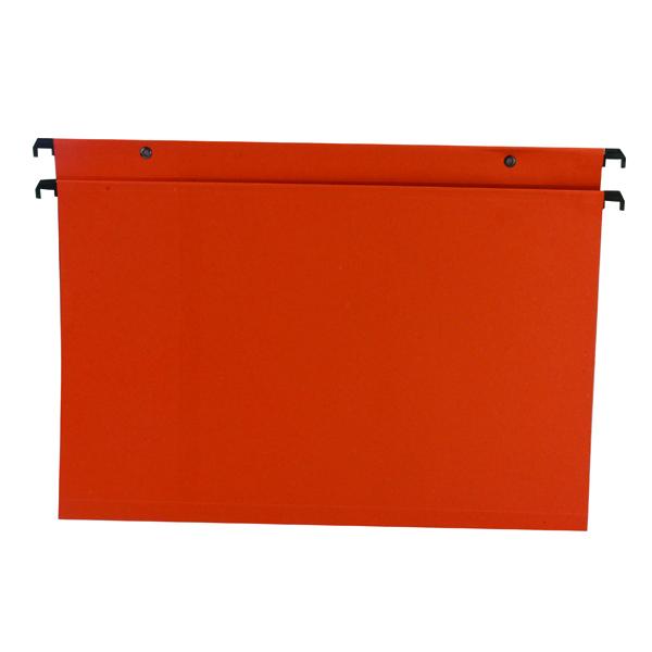 Esselte Orange Suspension File Foolscap 30 mm (Pack of 50) 10403
