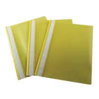 Esselte VIVIDA Yellow Polypropylene Report Files A4 (Pack of 25) 28318