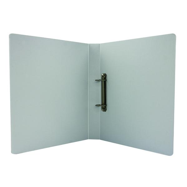 Esselte A4 White 25mm 2 D-Ring Presentation Binder (10 Pack) 49737