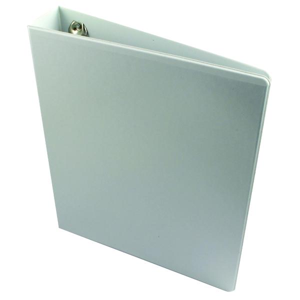 Esselte A4 White 40mm 4 D-Ring Presentation Binder 49704