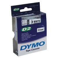 Dymo 6000 Tape 19mm x10m White 61911 S0721150