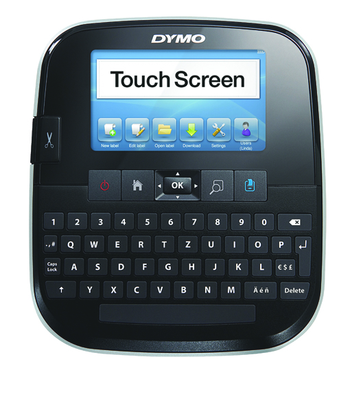 Dymo Label Manager 500 Touch Screen Black S0946420