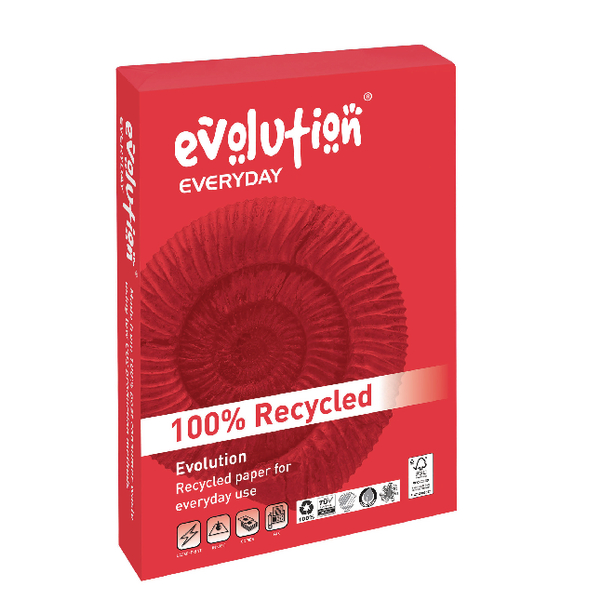 Evolution White Everyday A4 Paper 75gsm (2500 Pack) EVE2175
