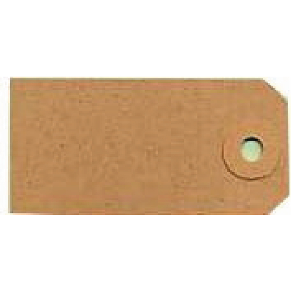 Unstrung Tags 4A 108 x 54mm Buff Single (1000 Pack) TG8024
