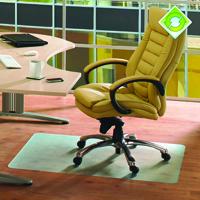 Ecotex Recycled Chair Mat Hard Floor 1200x900mm Clear KF73641