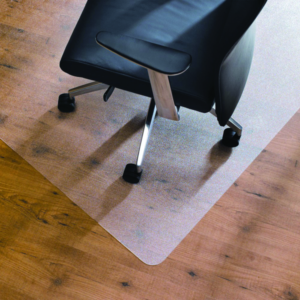 Image for Cleartex Chair Mat Hard Floor 1200x750mm Clear