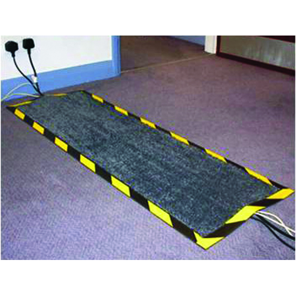 Floortex 400x1200mm Black Kable Mat FCKAB40120