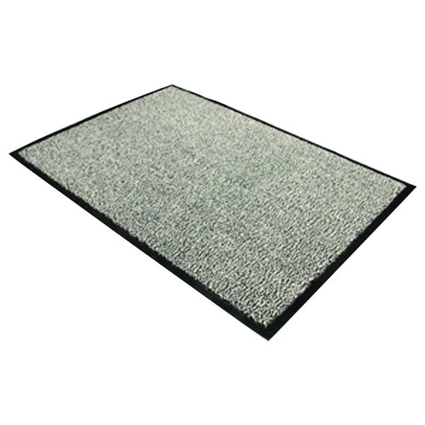 Doortex Black and White Dust Control Door Mat 900x1200mm 49120DCBWV