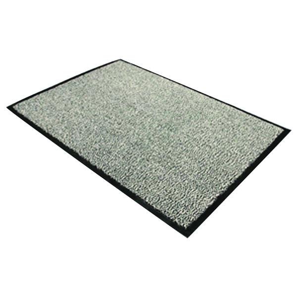 Doortex Black and White Dust Control Door Mat 1200x1800mm Pack of 1) 49180DCBWV