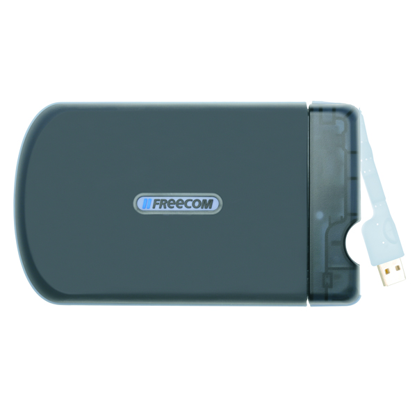 Freecom Tough Drive 500GB USB External Hard Disk Drive Black 56058