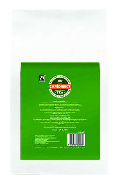 Cafedirect Everyday Tea Bags (Pack of 1100) TW13204