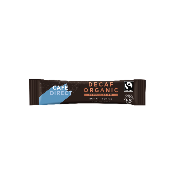 Cafedirect Decaff Organic Freeze Dried Coffee Sticks Pack of 250 TWI41032