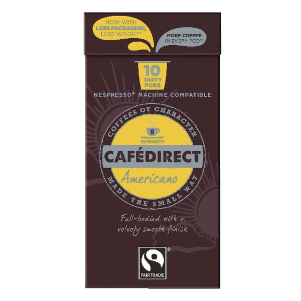 Cafedirect Comp Pods Americano Pk10X10