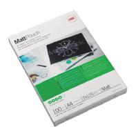 Acco GBC Laminating Pouch A4 Matt 125micron Pack of 100 3747241