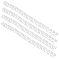 Acco GBC A4 8mm 21-Loop Wires US Pitch White Pack of 100 IB165184