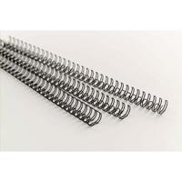 Acco GBC A4 11mm 34-Loop Wires 3:1 Pitch Black Pack of 100 RG810710