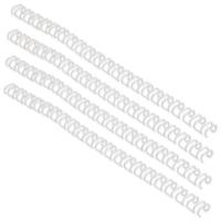 GBC WireBind 3:1 No.8 12.5mm A4 White Binding Wires (Pack of 100) RG810870U