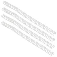 GBC WireBind 3:1 No.9 14mm A4 White Binding Wires (Pack of 100) RG810970U