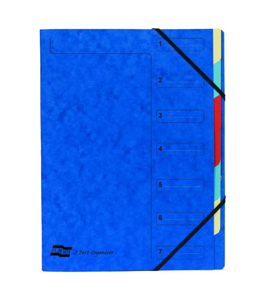 Europa 7 Part A4 Blue Organiser 5219Z