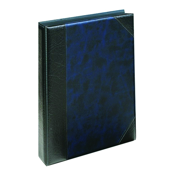 Image for Goldline A5 Telephone Address Book Blue DTAA5/BL
