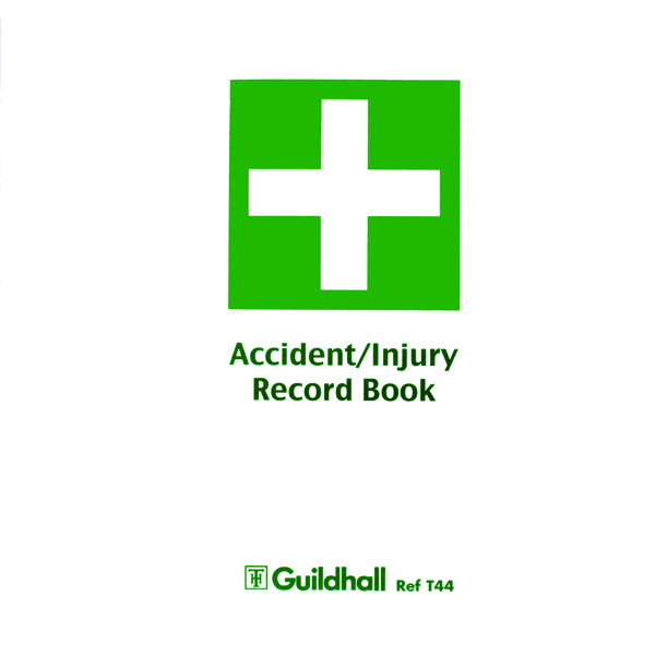Guildhall Accident Book (5 Pack) T44
