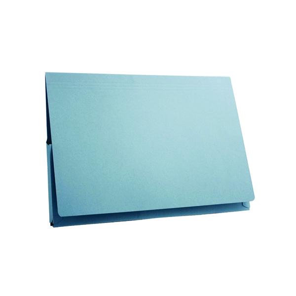 Guildhall Blue Pocket Legal Wallet Pack of 50 PW3-BLU