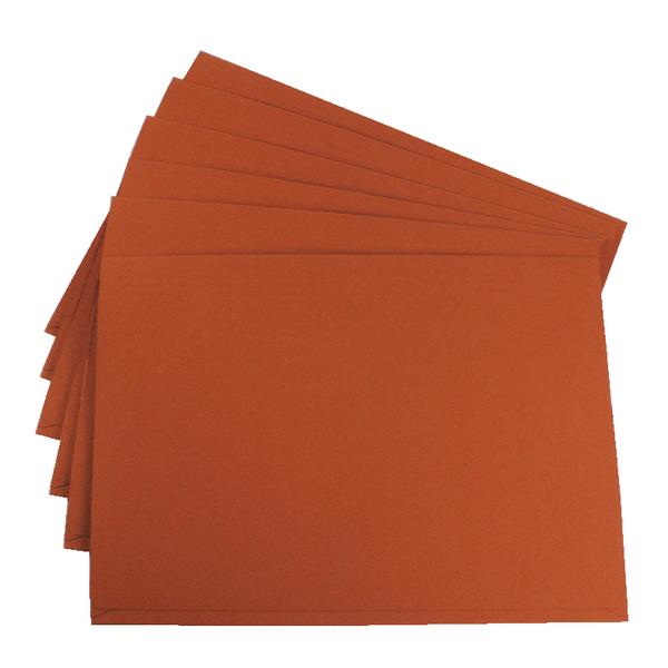 Guildhall Orange Pocket Legal Wallet Pack of 50 PW3-ORG