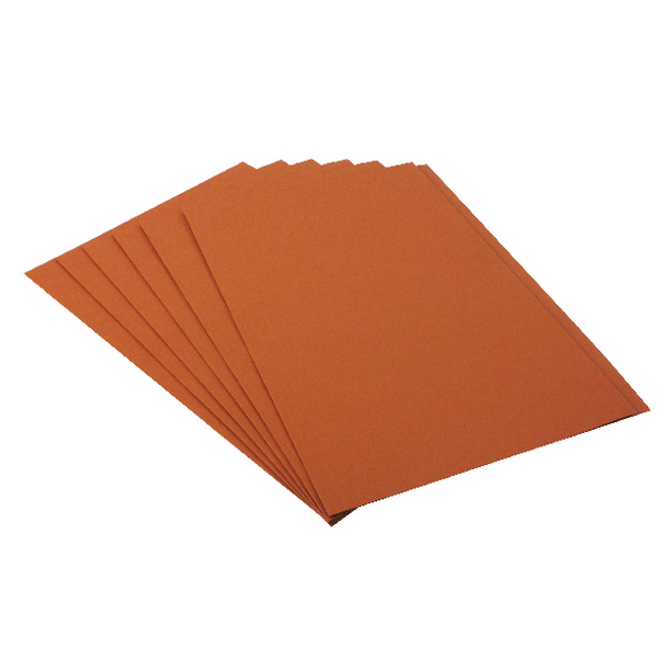 Guildhall Orange Square Cut Folder (100 Pack) FS315-ORANGE