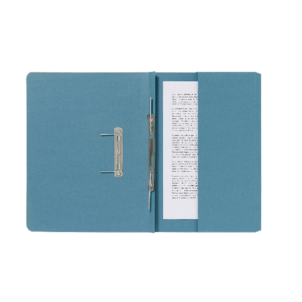 Guildhall Blue Pocket Spiral File (25 Pack) 347-BLUZ