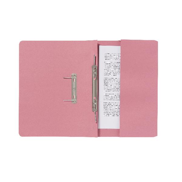 Guildhall Pink Pocket Spiral File (25 Pack) 347-PNKZ