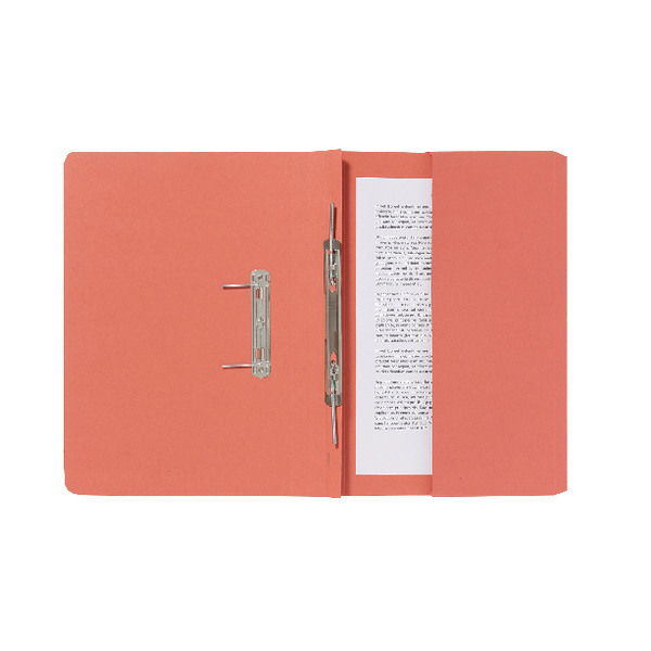 Guildhall Orange Pocket Spiral File (25 Pack) 347-ORGZ