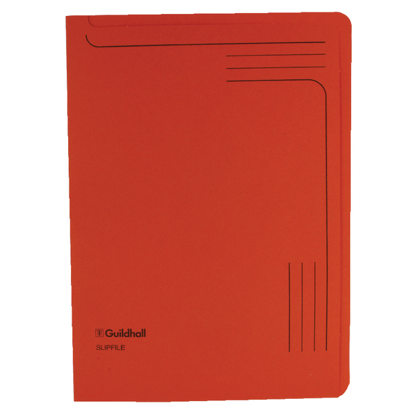 Guildhall Orange Slipfile 14607