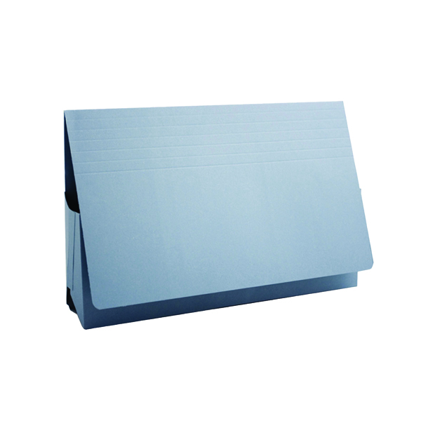 Guildhall Blue Probate Document Wallet (Pack of 25) PRW2-Blue