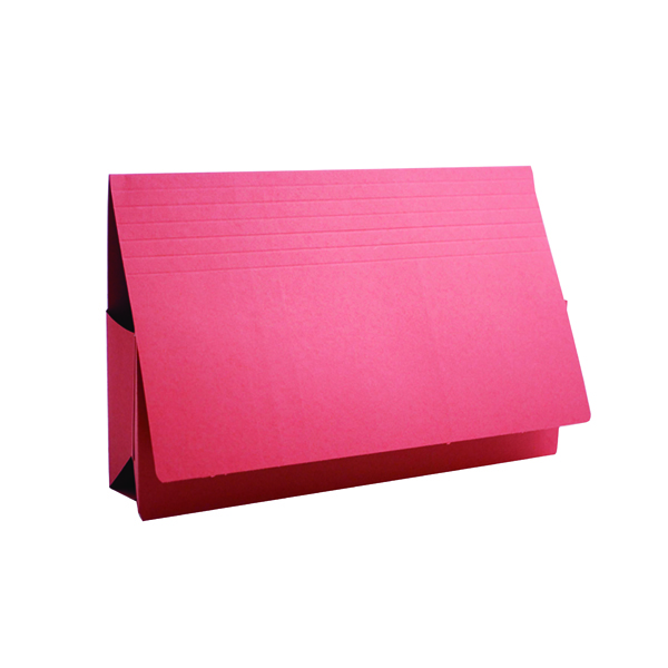 Guildhall Red Probate Document Wallet Pack of 25 PRW2-RED