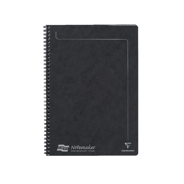 Europa Black A4 Sidebound Notemaker 4862