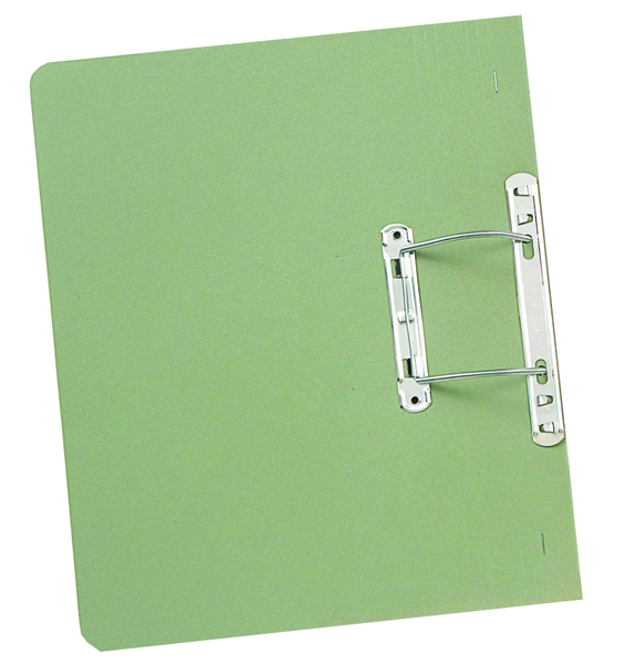 Guildhall Green Foolscap Transfer Spiral File (50 Pack) 348-GRN