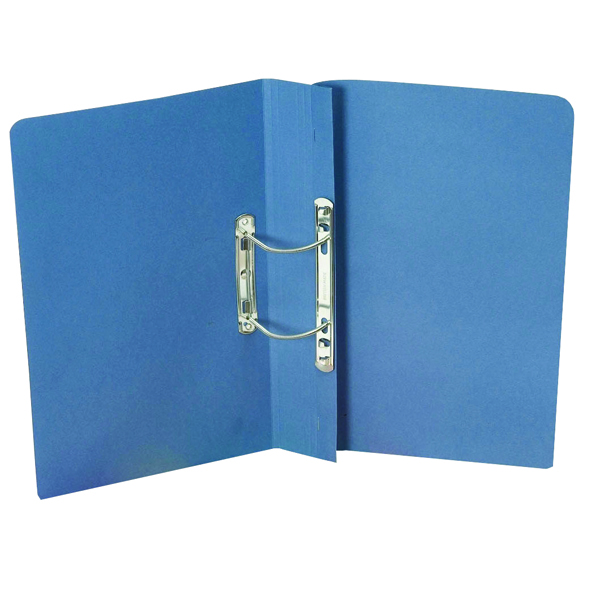 Guildhall Blue Foolscap Heavyweight Spiral File (Pack of 25) 211/7000