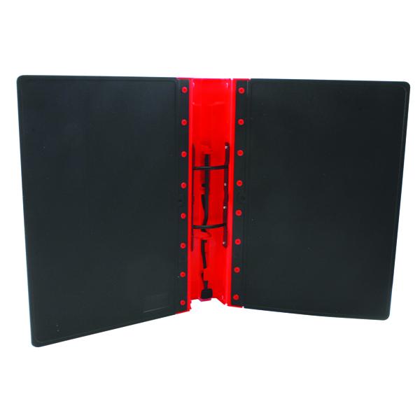 Guildhall GL Ergogrip 2 Ring A4 Binder Red (2 Pack) 4510