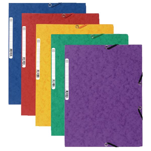 Europa A4 Assorted Portfolio Files (10 Pack) 4750