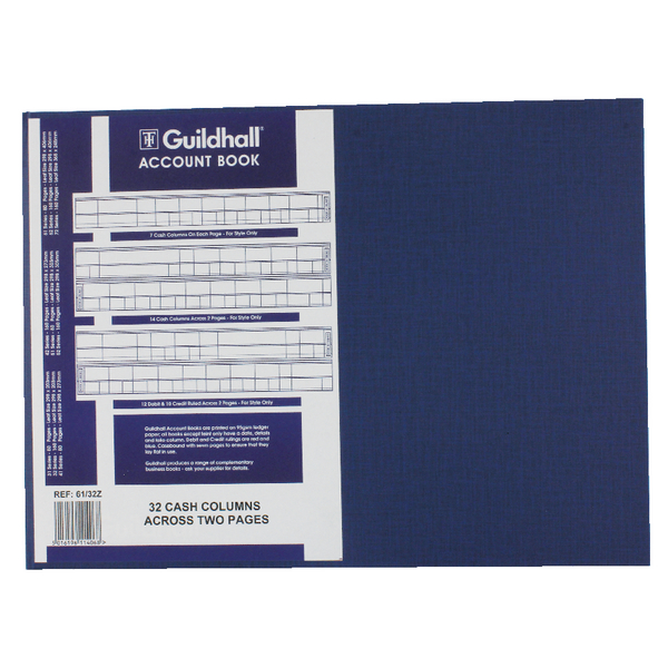 Guildhall 32 Cash Columns Account Book 80 Pages 61/32 1406
