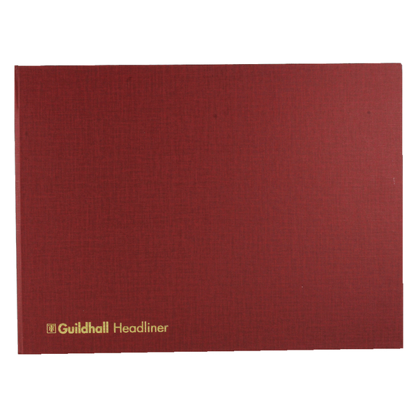 Guildhall 298x405mm Headliner Book 80 Pages 68/6-20 1450