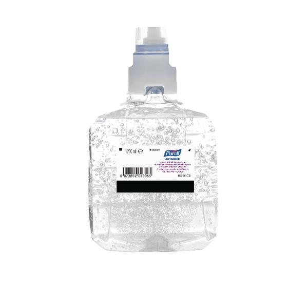 Purell Advanced Hygienic Hand Rub LTX-12 1200ml Refill Cartridge (Pack of 2) 1903-02-EEU