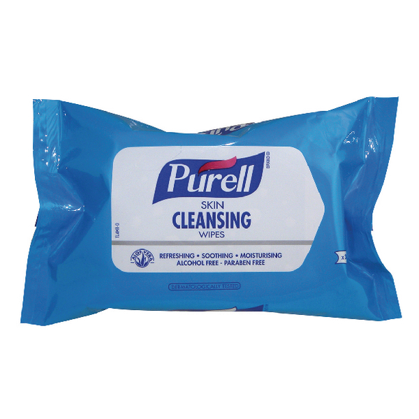 Purell Skin Cleansing Wipes (Pack of 30) 93004-28-EEU