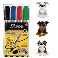 Sharpie Pro Bullet Astd FOC Toy Dog