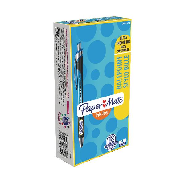 Paper Mate Inkjoy 550 Blue Ballpoint Pen (12 Pack) S0977220