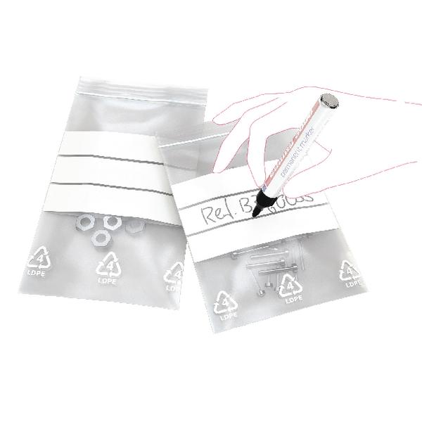 Write-on Minigrip Bag 90x115mm (Pack of 1000) GA-123