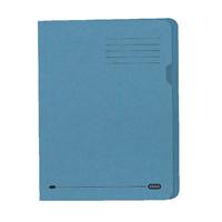 Elba Blue Square Cut Folder (Pack of 100) 100090203