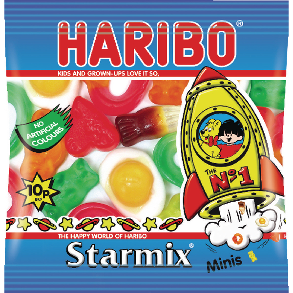 Haribo Starmix Small Bag (100 Pack) 72443