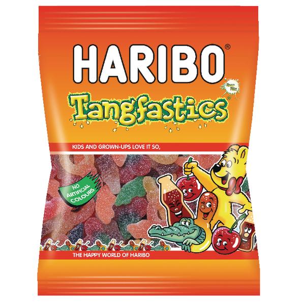 Haribo Tangfastics 140g Bag (Pack of 12) 14573