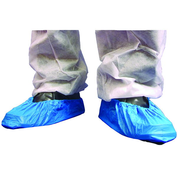 Shield Blue 16 Inch Overshoes (Pack of 2000) DF01/16